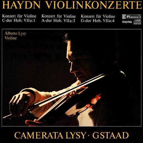 Joseph Haydn: Concertos For Violin & String Orchestra by Alberto Lysy
