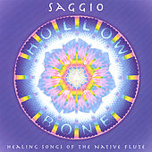 Hollow Bone: Healing Songs of the Native Flute by Saggio