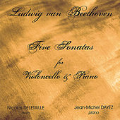 Beethoven 5 Cello Sonatas by Nicolas Deletaille
