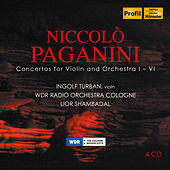 Niccolo Paganini: Concertos for Violin & Orchestra 1-6 by Ingolf Turban