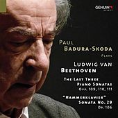 Beethoven: Piano Sonatas Nos. 29-32 by Paul Badura-Skoda