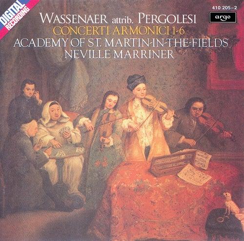 Wassenaer: Concerti Armonici (attrib. Pergolesi) by Academy of St. Martin in the Field