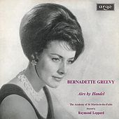 Handel: Arias by Bernadette Greevy
