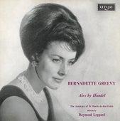 Handel: Arias by Bernadette Greevy