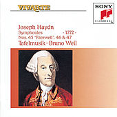 Haydn: Symphonies Hob. I: 45, 46 & 47 by Bruno Weil; Tafelmusik