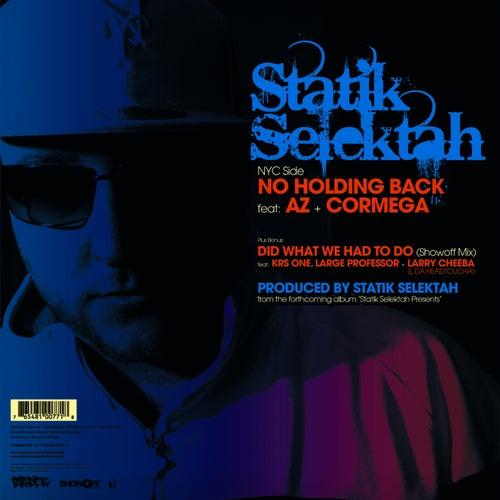 No Holding Back by Statik Selektah