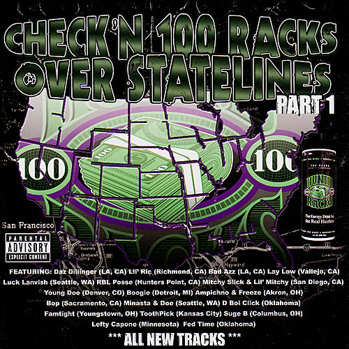 Check'n 100 Racks Over Statelines by Various Artists