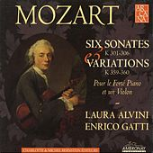 Mozart: Works for Violin & Fortepiano by Enrico Gatti