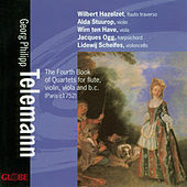 Telemann: 4th Book of Flute Quartets by Wilbert Hazelzet