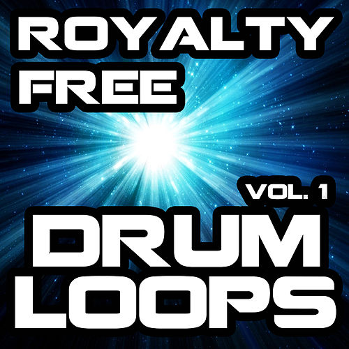Royalty Free Drum Loops, Vol. 1 by Royalty Free Music Factory