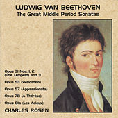 Beethoven: The Great Middle Period Sonatas by Charles Rosen