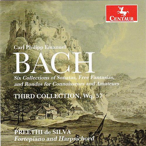 C.P.E. Bach: Works for Fortepiano & Harpsichord by Preethi de Silva