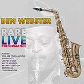 Rare Live Performance by Ben Webster