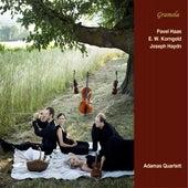 Haas, Korngold & Haydn: String Quartets by Adamas Quartett