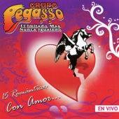 15 Romanticos Con Amor (En Vivo) by Grupo Pegasso