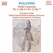 Violin Concertos Nos. 1 and  2 by Nicolo Paganini