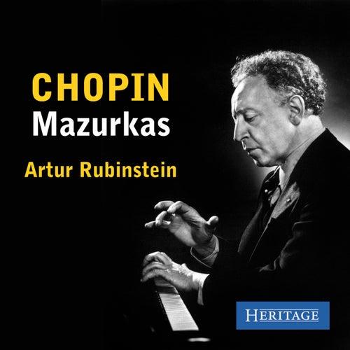 Chopin: Mazurkas by Artur Rubinstein