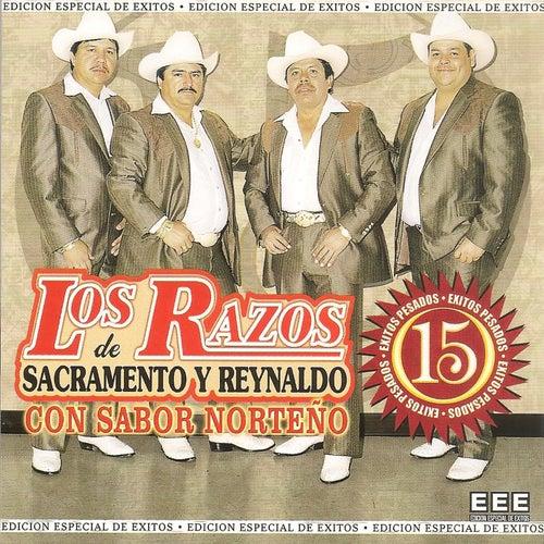 Los Razos 15 Exitos Con Sabor Norteno by Los Razos