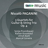 Paganini: 3 Quartets for Guitar & String Trio, Op. 4 by Sonja Prunnbauer