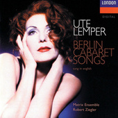 Berlin Cabaret Songs (English) by Ute Lemper
