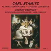 Stamitz: Clarinet Concertos Nos. 1, 7, 8 & 11 by Eduard Brunner