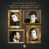 Fauré & Bonis: Piano Quartets by Quatuor Giardini