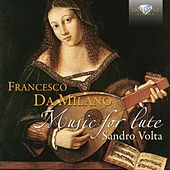 Da Milano: Music for Lute by Sandro Volta