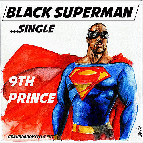 Black Superman by 9th Prince