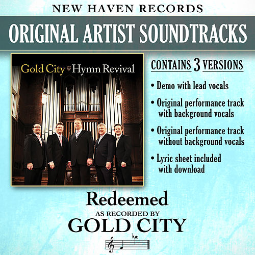 Redeemed (Performance Tracks) - EP by Gold City