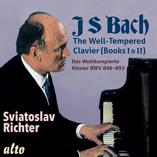 Bach: Well Tempered Clavier (Books I & II, Complete) by Sviatoslav Richter