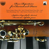 Mason, Tovey, Moeschinger, Bach: Rare Repertoire for Clarinet and Piano by Konstantin Lifschitz