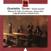Falla - Brouwer - Rak - Boccherini - Fauré: Guitar Quartet by Quartetto Torres