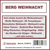 Berg Weihnacht by Various Artists