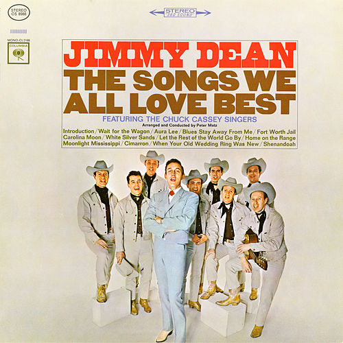 The Songs We All Love Best by Jimmy Dean