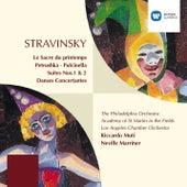 Stravinsky: Le Sacre du Printemps/Petrushka/Pulcinella/Suites/Danses by Various Artists