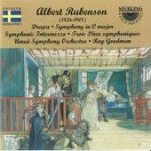 Albert Rubenson: Drapa, Symphony in C Major, Symphonic Intermezza, Trois Pièce Symphoniques by Umeå Symphony Orchestra