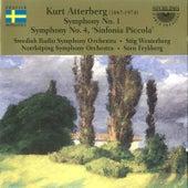 Kurt Atterberg: Symphony No. 1; Symphony No. 4 Sinfonia Piccola by Norrköping Symphony Orchestra