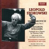 Leopold Stokowski - Amirov, Shostakovich, Vaughan Williams, Kurka 1960 & 1962 by Leopold Stokowski