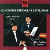 Canciones Españolas e Italianas by Marc Pantillon