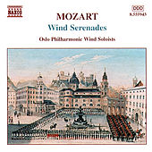 Wind Serenades by Wolfgang Amadeus Mozart