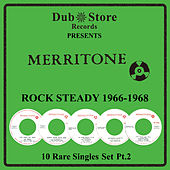 Merritone Rocksteady 1966 to 1968 - 10 Rare Singles Set Pt. 2 by Various Artists