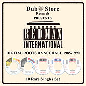 Redman International: Digital Roots Dancehall 1985 to 1990 - 10 Rare Singles Set by Various Artists