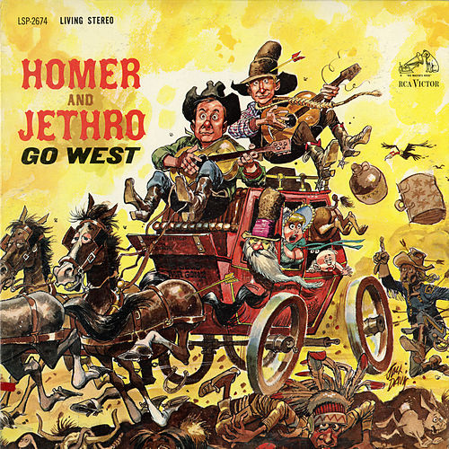 Homer & Jethro Go West by Homer and Jethro