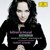 Beethoven: Piano Concerto No. 5; Piano Sonata No.28 in A, Op.101 by Hélène Grimaud