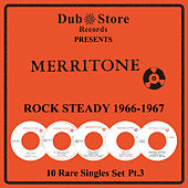 Merritone Rocksteady 1966 to 1967 - 10 Rare Singles Set Pt. 3 by Various Artists