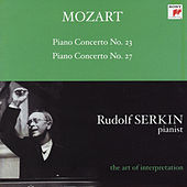 Mozart: Piano Concertos Nos. 23 & 27 [Rudolf Serkin - The Art of Interpretation] by Alexander Schneider; Columbia Symphony Orchestra; Rudolf Serkin