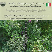 Busoni, Vivaldi and Others: Italian Masterpieces for Clarinet or Basset Horn and Orchestra by Cappella Istropolitana