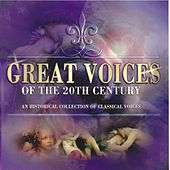 Great Voices of the 20th Century von Various Artists