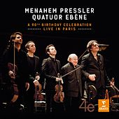 Menahem Pressler - A 90th Birthday Celebration - Live in Paris by Quatuor Ébène