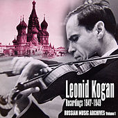 Russian Music Archives, Volume 1 (Recordings 1947 - 1949) by Various Artists